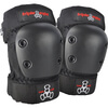 Triple 8 Park Black Knee & Elbow Pad Set - Small