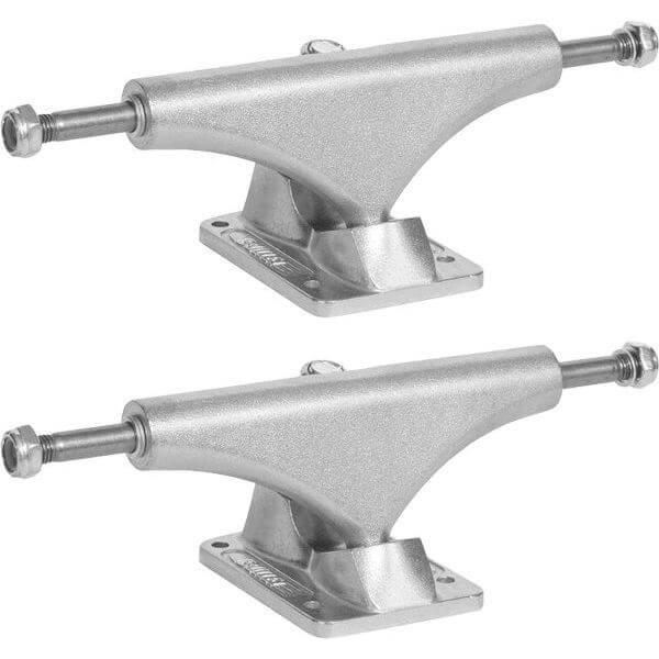 "Bullet Skateboards 140mm Polished Skateboard Trucks - 5.25"" Hanger 8.0"" Axle (Set of 2)"
