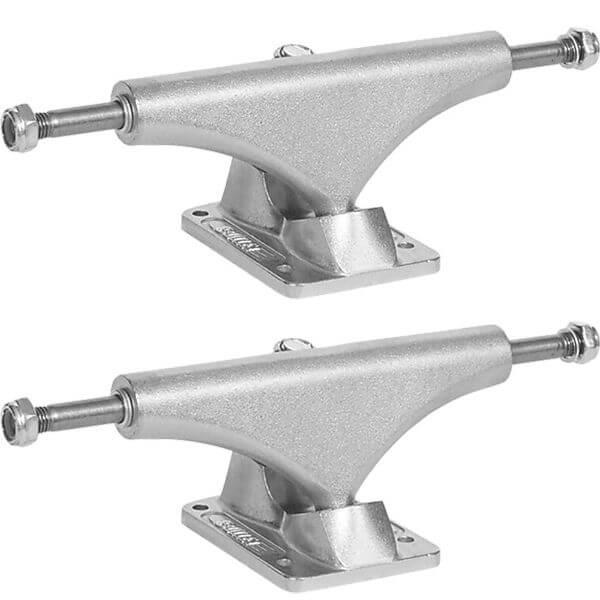 """Bullet Skateboards 145mm Silver Skateboard Trucks - 5.5"""" Hanger 8.25"""" Axle (Set of 2)"""