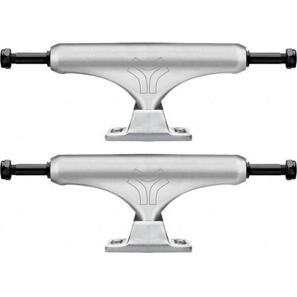 "Destructo Trucks D2 Lite Raw Ballistic Skateboard Trucks - 5.0"" Hanger 7.75"" Axle (Set of 2)"