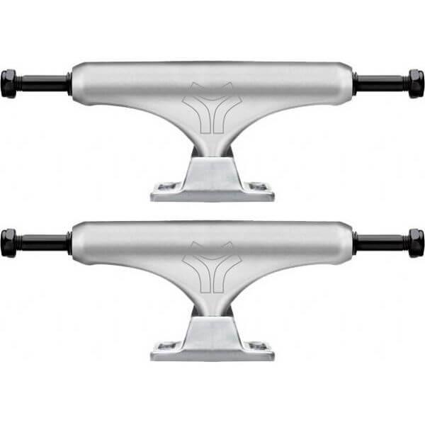 "Destructo Trucks D2 Lite Polished Ballistic Skateboard Trucks - 5.25"" Hanger 8.0"" Axle (Set of 2)"