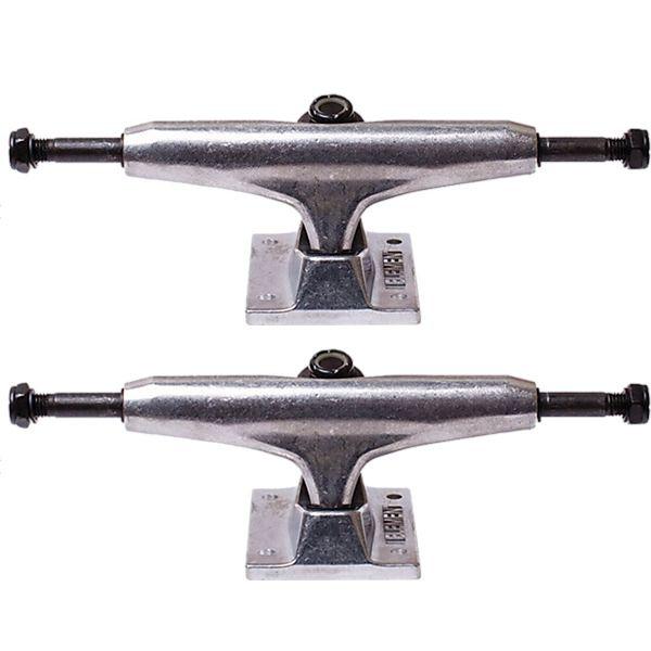 "Element Skateboards Standard Raw Skateboard Trucks - 5.25"" Hanger 8.0"" Axle (Set of 2)"