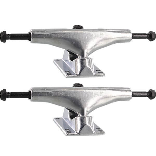 "Essentials Polished Skateboard Trucks - 5.25"" Hanger 8.0"" Axle (Set of 2)"