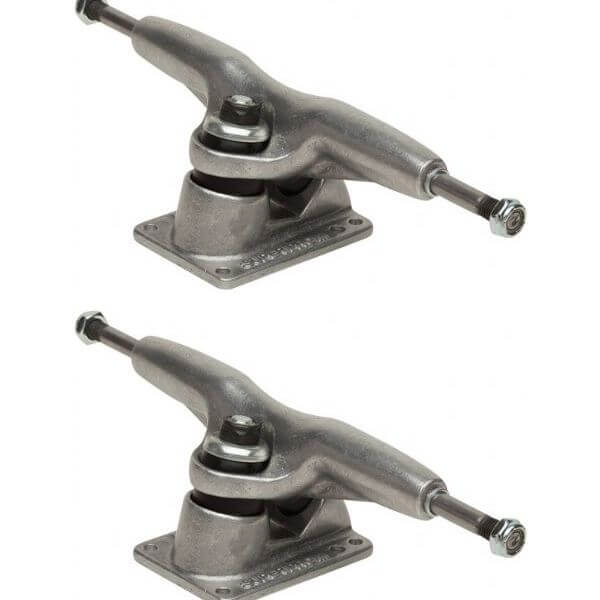 "Gullwing Trucks Pro III Silver Skateboard Trucks - 6.25"" Hanger 9.0"" Axle (Set of 2)"