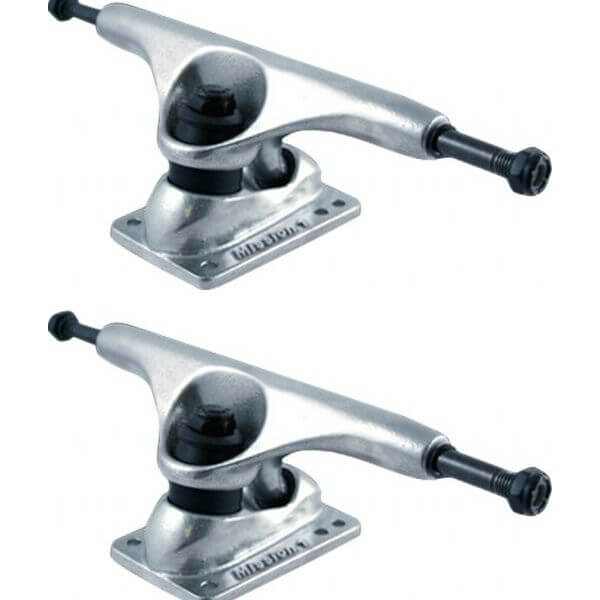 "Gullwing Trucks Mission Polished Skateboard Trucks - 5.625"" Hanger 8.38"" Axle (Set of 2)"