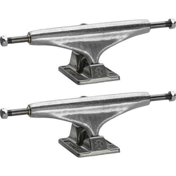 """Independent Stage 11 - 129mm Standard Polished Skateboard Trucks - 5.0"""" Hanger 7.6"""" Axle (Set of 2)"""