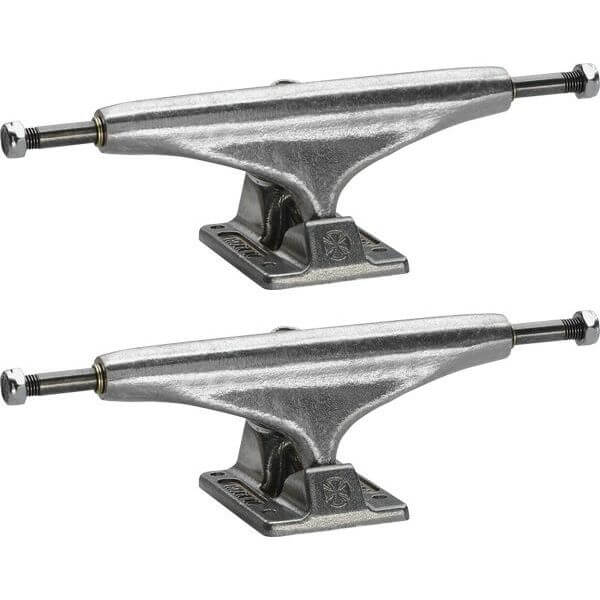 "Independent Stage 11 - 139mm Standard Silver Skateboard Trucks - 5.39"" Hanger 8.0"" Axle (Set of 2)"