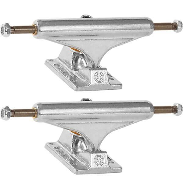 "Independent Stage 11 - 144mm Standard Silver Skateboard Trucks - 5.67"" Hanger 8.25"" Axle (Set of 2)"