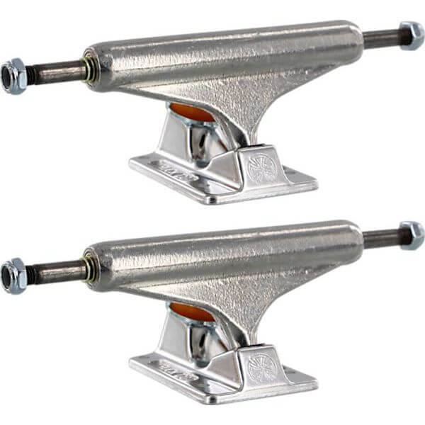 "Independent 129mm Forged Hollow Standard Polished Skateboard Trucks - 5.0"" Hanger 7.6"" Axle (Set of 2)"