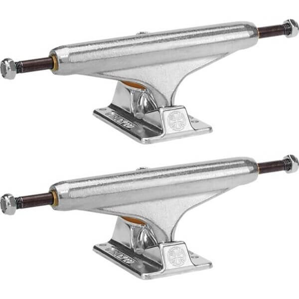 """Independent Stage 11 - 149mm Forged Hollow Standard Silver Skateboard Trucks - 5.87"""" Hanger 8.5"""" Axle (Set of 2)"""