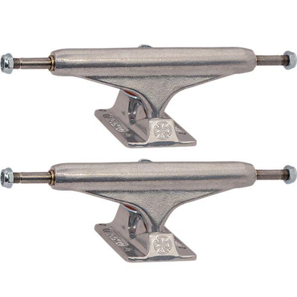 "Independent Stage 11 - 149mm Hollow Standard Silver Skateboard Trucks - 5.87"" Hanger 8.5"" Axle (Set of 2)"