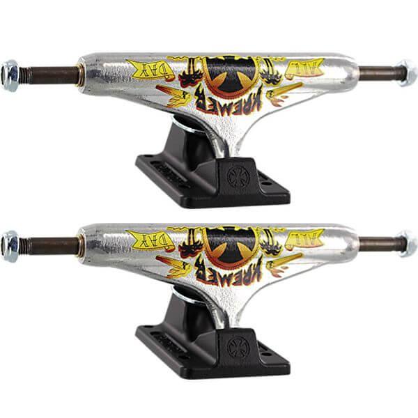 """Independent Wes Kremer Stage 11 - 149mm Hollow All Day Standard Polished / Black Skateboard Trucks - 5.87"""" Hanger 8.5"""" Axle (Set of 2)"""