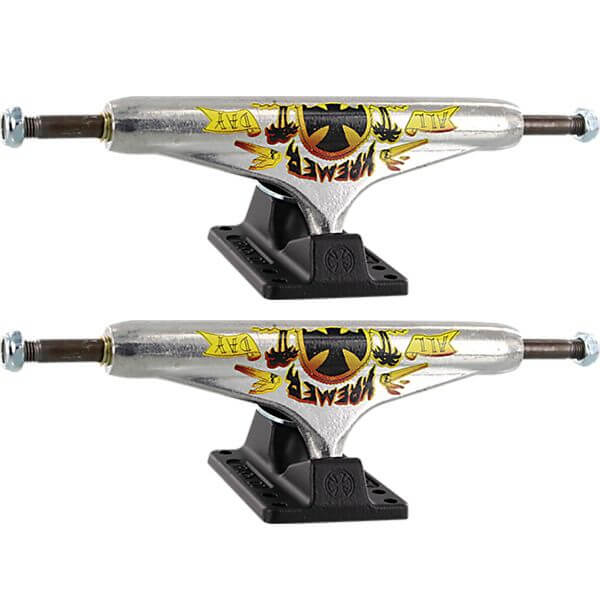 "Independent Wes Kremer Stage 11 - 159mm Hollow All Day Standard Polished / Black Skateboard Trucks - 6.14"" Hanger 8.75"" Axle (Set of 2)"