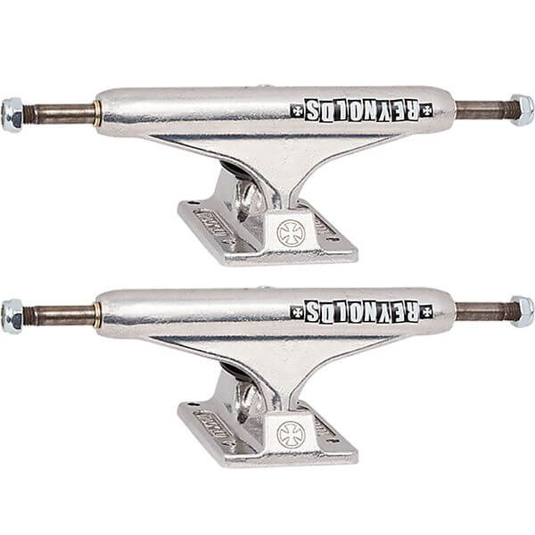 "Independent Andrew Reynolds Stage 11 - 149mm Hollow Block Standard Silver Skateboard Trucks - 5.87"" Hanger 8.5"" Axle (Set of 2)"