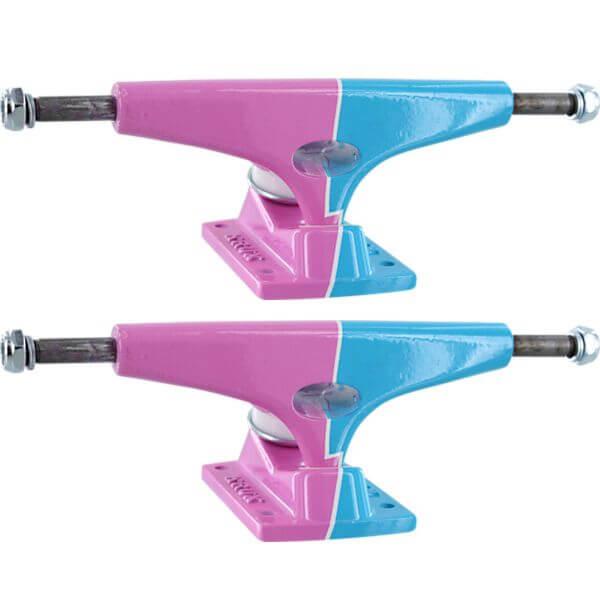 Krux Trucks Standard Bold Pink / Blue Skateboard Trucks - 5.625 ...