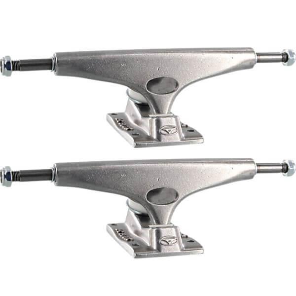 "Krux Trucks Standard Silver Polished Skateboard Trucks - 5.8"" Hanger 8.5"" Axle (Set of 2)"