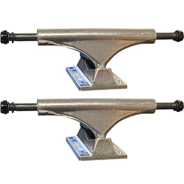"""Litezpeed Polished Skateboard Trucks - 5.25"""" Hanger 8.0"""" Axle (Set of 2)"""