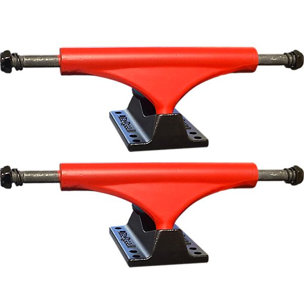 "Litezpeed Red Skateboard Trucks - 5.25"" Hanger 8.0"" Axle (Set of 2)"