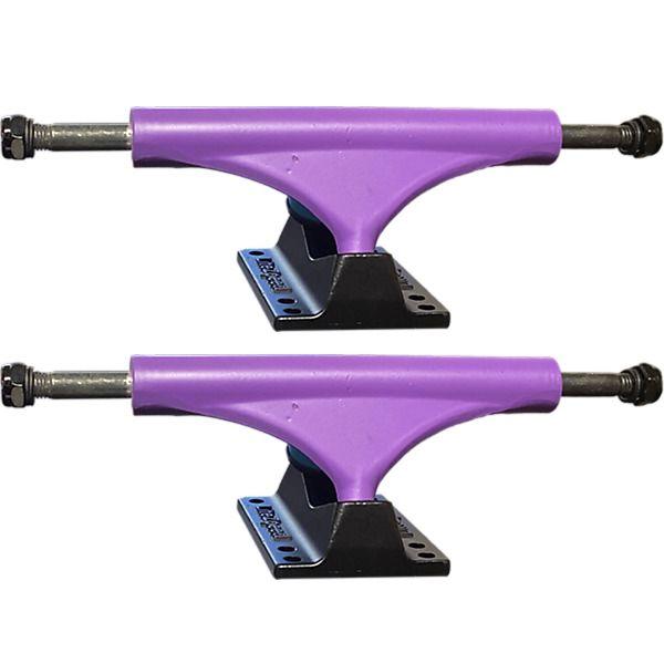 """Litezpeed Purple Skateboard Trucks - 5.25"""" Hanger 8.0"""" Axle (Set of 2)"""