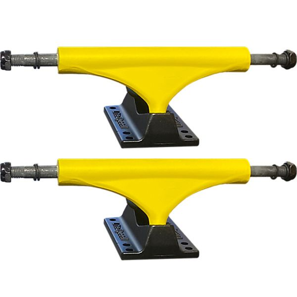 "Litezpeed Yellow Skateboard Trucks - 5.25"" Hanger 8.0"" Axle (Set of 2)"