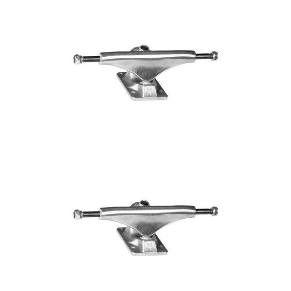 "Mini Logo Polished Skateboard Trucks - 5.0"" Hanger 7.63"" Axle (Set of 2)"
