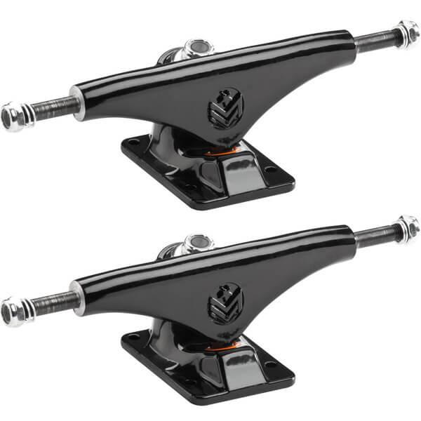 Mini Truck Axles : Mini logo black skateboard trucks mm hanger axle