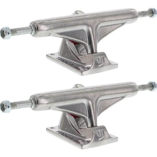 "Tensor Trucks Aluminum Polished Skateboard Trucks - 5.5"" Hanger 8.25"" Axle (Set of 2)"