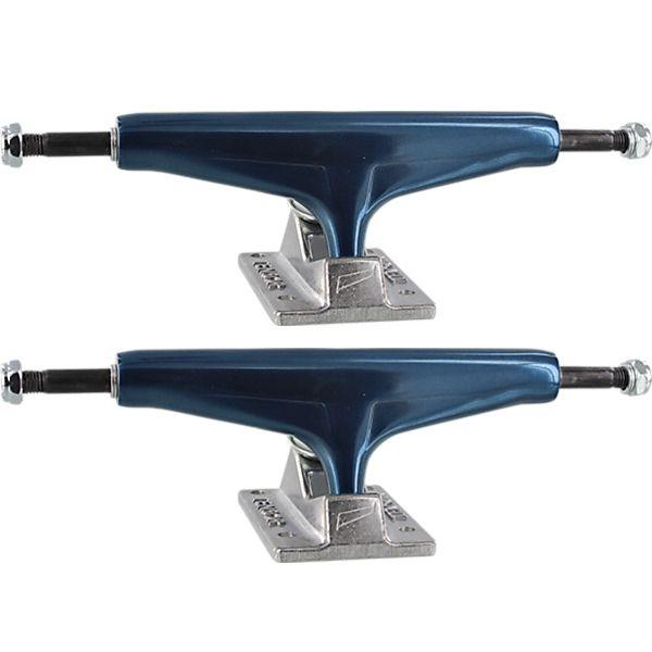 """Tensor Trucks Aluminum Mirror Slate / Raw Skateboard Trucks - 5.75"""" Hanger 8.5"""" Axle (Set of 2)"""