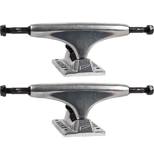 """Tensor Trucks Alloy Polished Skateboard Trucks - 5.0"""" Hanger 7.75"""" Axle (Set of 2)"""