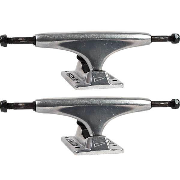 """Tensor Trucks Alloy Polished Skateboard Trucks - 5.5"""" Hanger 8.25"""" Axle (Set of 2)"""