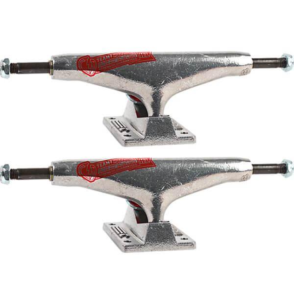 """Thunder Trucks 148mm Team Hollows Polished Skateboard Trucks - 5.5"""" Hanger 8.25"""" Axle (Set of 2)"""