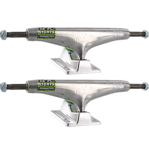 "Thunder Trucks 151mm Polished II Lights Polished Skateboard Trucks - 6.0"" Hanger 8.75"" Axle (Set of 2)"