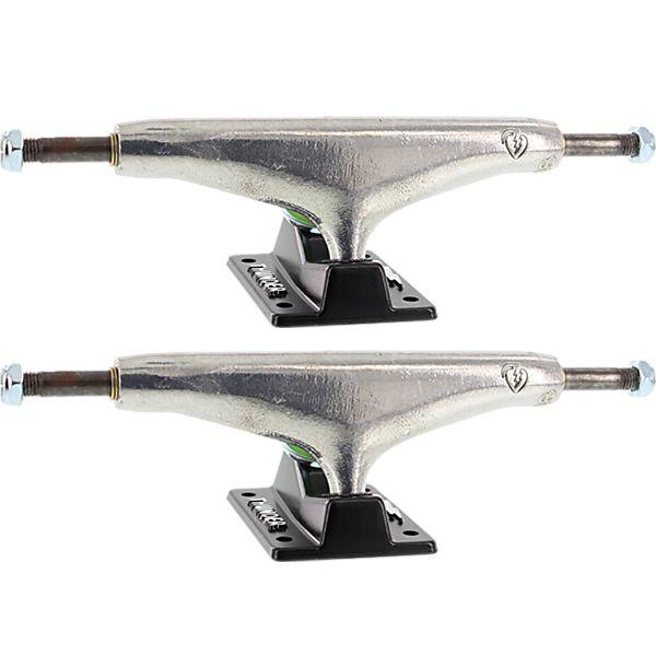 """Thunder Trucks Korahn Gayle 148mm Hollow Light Stamped Polished / Black Skateboard Trucks - 5.5"""" Hanger 8.25"""" Axle (Set of 2)"""