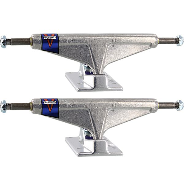 "Venture Trucks Polished V-Lights High Silver Skateboard Trucks - 5.8"" Hanger 8.5"" Axle (Set of 2)"