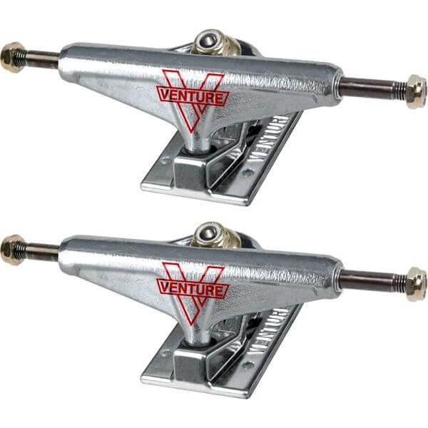 "Venture Trucks V-Lights High Polished Skateboard Trucks - 5.0"" Hanger 7.75"" Axle (Set of 2)"
