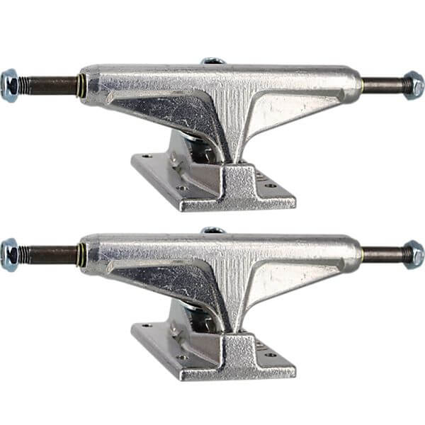 "Venture Trucks All Polished Low Polished Skateboard Trucks - 5.25"" Hanger 8.0"" Axle (Set of 2)"