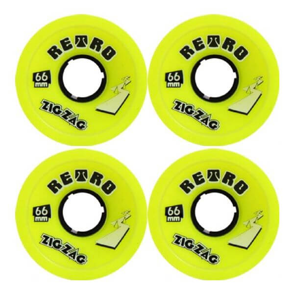 ABEC 11 ZigZags Longboard Wheels