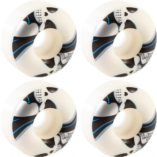 Blind Skateboards Reaper White / Silver Skateboard Wheels - 52mm 99a (Set of 4)