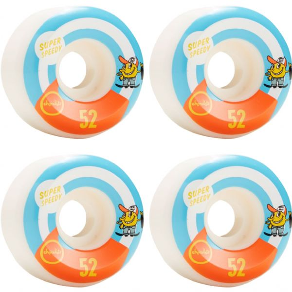 Chocolate Skateboards Hecox Essential Skateboard Wheels - 52mm 99a (Set of 4)
