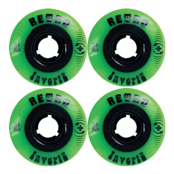 Retro Invertz Longboard Wheels
