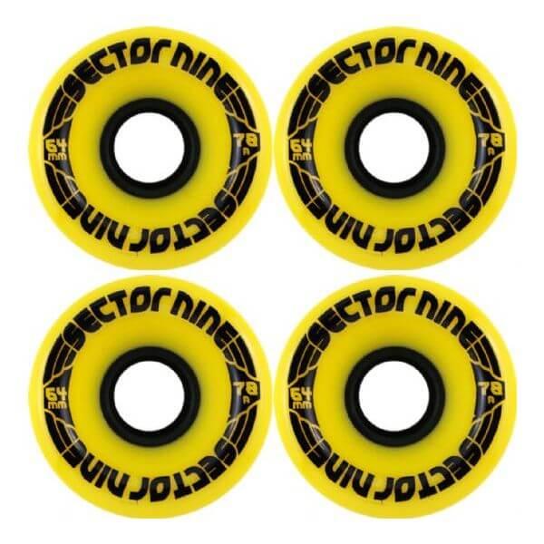 Sector 9 9 Ball Longboard Wheels