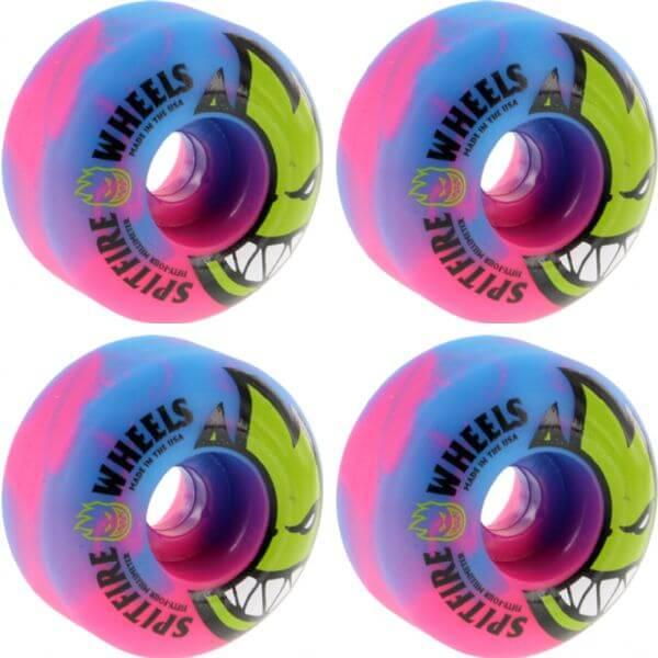 neon skateboard wheels