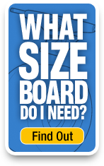 Use our sizing tool to find the right skateboard size