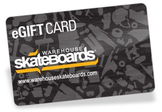 Warehouse Skateboards eGift Card